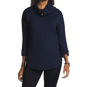 Zenergy Chico's Cowl neck Pullover